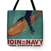 Wartime Propaganda Poster Tote Bag