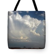 Prairie Storm Clouds Tote Bag