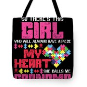 9 So There This Girl Tote Bag