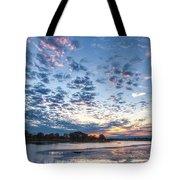 Danvers River Sunset Tote Bag