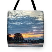 Danvers River Sunset Tote Bag
