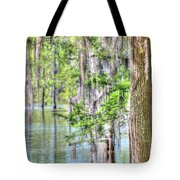 A Beautiful Day In The Bayou Tote Bag