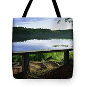 A Bench To Ponder Tote Bag