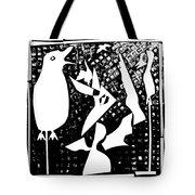 A Bird Hunting Birds 4 Tote Bag
