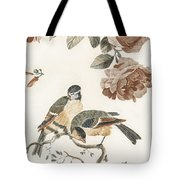 A Blue Tit And A Great Tit By Johan Teyler   1648  1709  2 Tote Bag