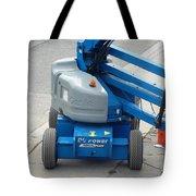 A Boom Lift Genie Z45 Machine Tote Bag
