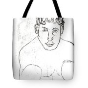A Boxer Boxing Tote Bag