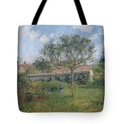 A Corner Of The Meadow At Eragny, 1902 Tote Bag