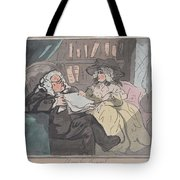 A Counselor's Opinion After He Had Retired From Practice After Thomas Rowlandson British, London 17 Tote Bag
