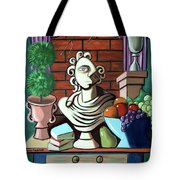 A Cubist Still Life Tote Bag by Anthony Falbo