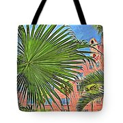 A Don Cesar Palm Frond Tote Bag