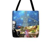 A Dream For Dr Freud Tote Bag