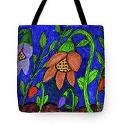 A Flower Garden Tote Bag