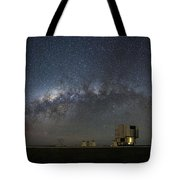 A Galactic View From The Observation Deck Tote Bag