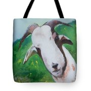 A Goat To Love Tote Bag