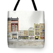 A Greenwich Village Streetscape Tote Bag