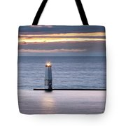 A Guiding Light Tote Bag by Fran Riley