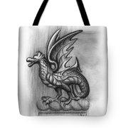 A Highclere Wyvern Tote Bag by Joe Winkler