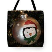 A Merry Christmas Greeting Tote Bag