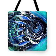 A New Breed In Blues Tote Bag