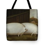 A Pair Of Pigs Tote Bag