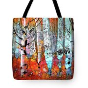 A Party In The Forest Tote Bag