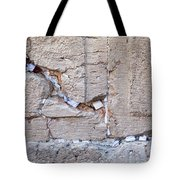 A Piece Of The Wailing Wall Tote Bag