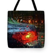 A Rainy Day In Nyc Tote Bag by Jeff Breiman