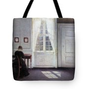 A Room In The Artist's Home In Strandgade, Copenhagen, With The Artist's Wife - Digital Remastered Tote Bag