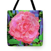 A Rose With Heart Tote Bag by Deborah Boyd