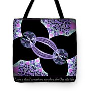 A Shield Tote Bag by Missy Gainer