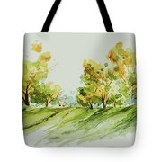 A Simple Landscape Tote Bag