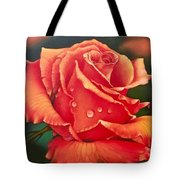 A Single Rose Tote Bag