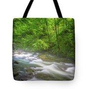 A Springtime Stream Tote Bag