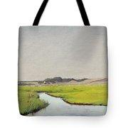 A Stream At Springtime Tote Bag