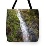 A Touch Of Light On Bridal Veil Falls Tote Bag