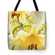 A Tower Of Lilies Tote Bag