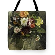 A Vase Of Flowers, 1833 Tote Bag