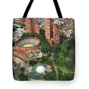 A View Of Downtown Bogota Tote Bag