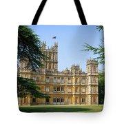 A View Of Highclere Castle Tote Bag by Joe Winkler