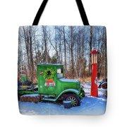 A Vintage Christmas Tote Bag by Susan Rissi Tregoning
