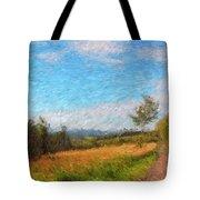 A Walk Through The Countryside Tote Bag by Gerlinde Keating - Galleria GK Keating Associates Inc