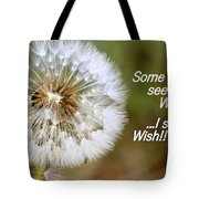 A Weed Or Wish? Tote Bag