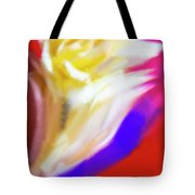 A White Rose In An Abstract Style. Tote Bag