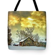 A Winter Eve Tote Bag