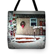 A Wisconsin Christmas Tote Bag