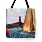 Abaco Rage On The Mark Tote Bag