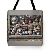 Abandoned Doll Heads Tote Bag