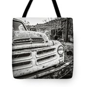Abandoned Ghost Town Studebaker Truck Tote Bag