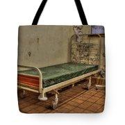 Abandoned Hospital Bed Tote Bag